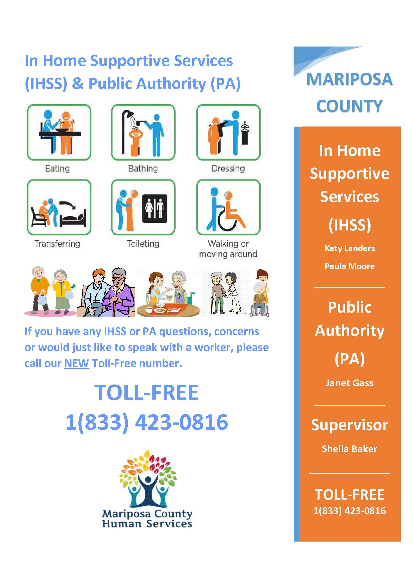 In Home Supportive Services Flyer