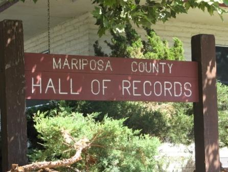 Hall of Records Sign