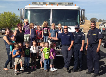 first 5 firefighters field trip