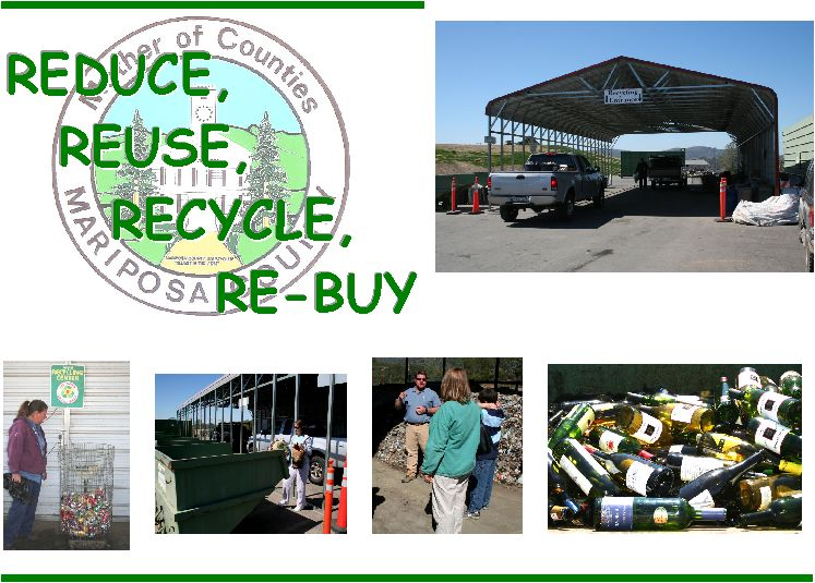Reduce - Reuse - Recycle