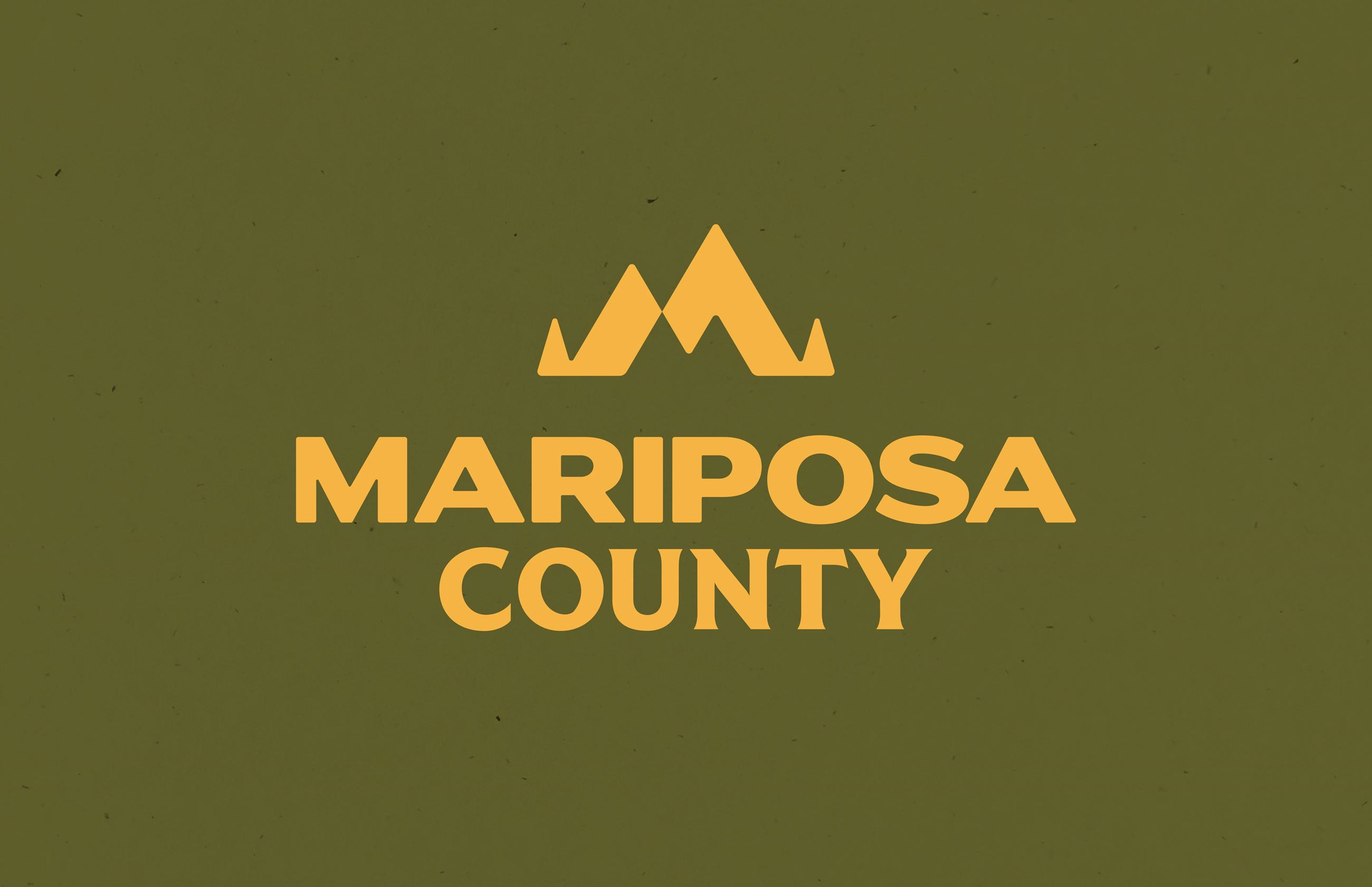 Mariposa County Place Brand_Green and Gold