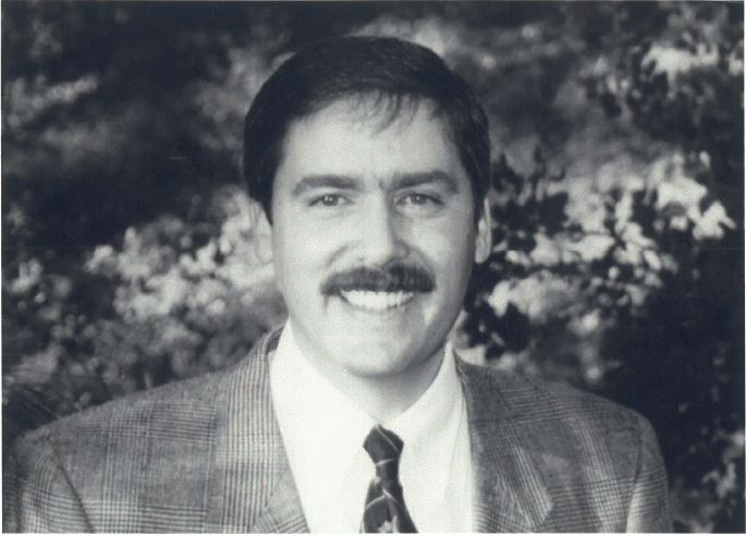 Portrait of Bob Pickard, District 5 Supervisor, circa 1996