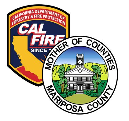 Image of CAL FIRE logo and County seal